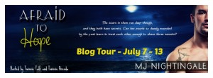 Afraid to Hope Blog Tour Banner